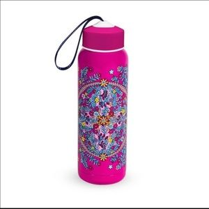 NWT Vera Bradley Kaleidoscope Water Bottle